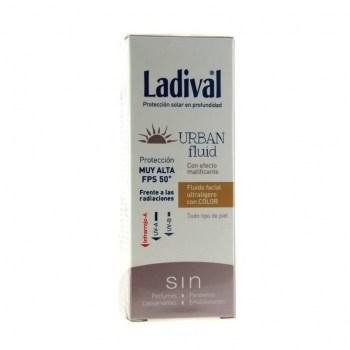 ladival urban fluid color spf50 50 ml